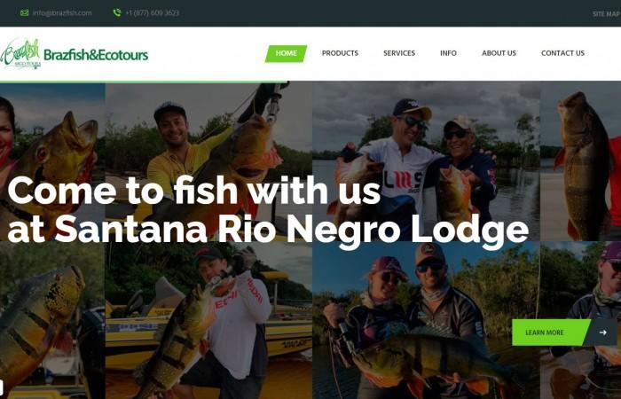 Novo Projeto Internacional no ar! Brazfish -  EUA