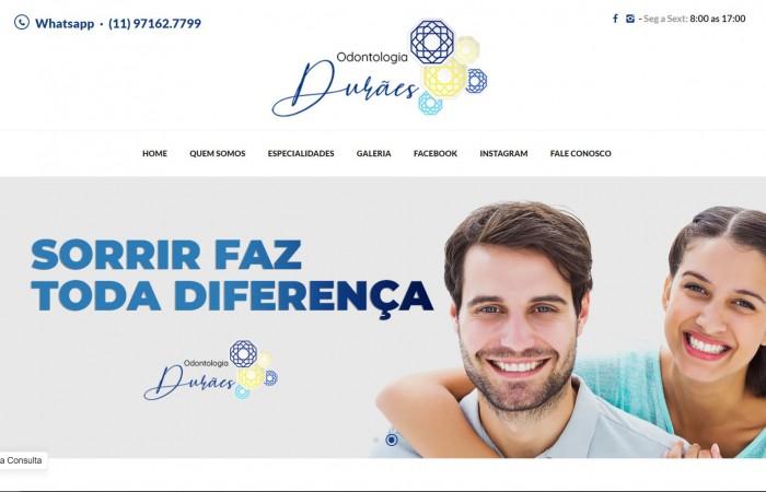 Novo Projeto Durães Odontologia no ar!
