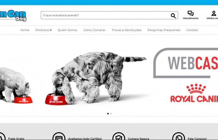 Nova Loja Virtual Chegando! Turn Can Dog - Roupas para Cachorros