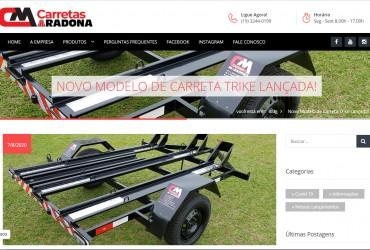 Novo Blog Customizado e Otimizado com SEO avançado Carretas Maradona saindo!