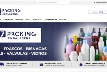 Nova Loja Virtual Chegando! Seven Packing
