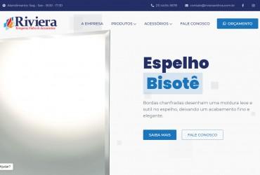 Novo Projeto Chegando! Riviera Vidros e Tempera - Web + Identidade Visual