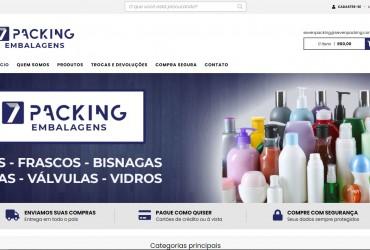 Nova Loja Virtual no ar ! Seven Packing Embalagens