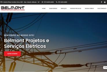 Novo Projeto Web Chegando! Belmont Projetos e Serviços Elétricos