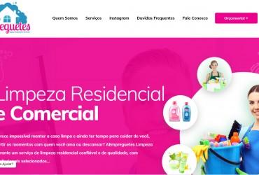 Novo Projeto Web no Ar! Empreguetes Limpeza Profissional
