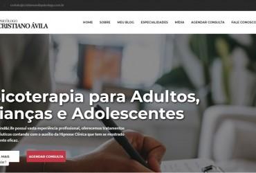 Novo Projeto Web/CMS chegando! Cristiano Ávila Psicólogo
