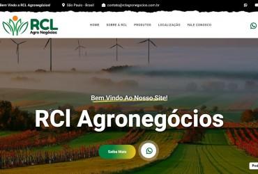 Novo Projeto Web no Ar + Criação de Logo ! RCL Agronegócios
