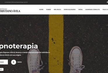 Novo Projeto Web/CMS no Ar! Cristiano Ávila Psicólogo