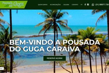 Novo Projeto Web Chegando! Pousada Guga Caraíva